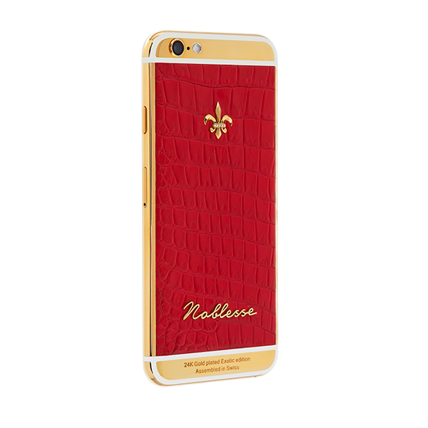 APPLE IPHONE NOBLESSE RED CROCO