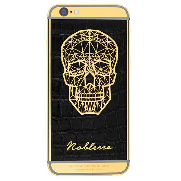 Apple IPhone Noblesse GOLD PLATED SKULL 2.3