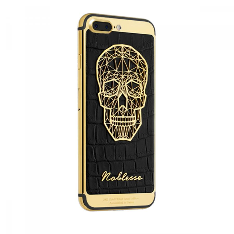 Apple IPhone Noblesse Gold Plated Skull i7plus2.3