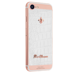 Apple IPhone Noblesse CROCO WHITE i7.0.3