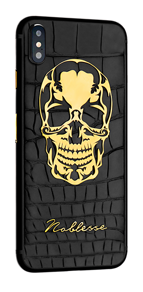APPLE IPHONE NOBLESSE SKULL iX.0.5