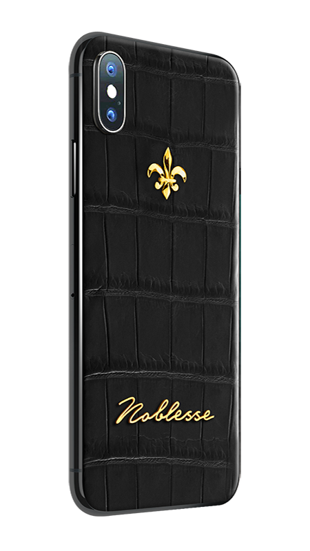 APPLE IPHONE NOBLESSE CROCO BLACK iX.1.3