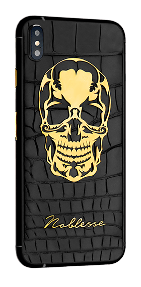 APPLE IPHONE NOBLESSE SKULL XS MAX