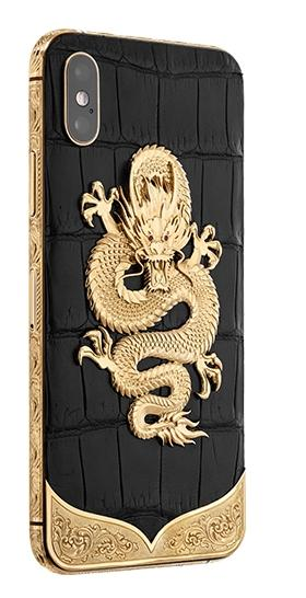 Apple IPhone Noblesse DRAGON engraving  XS