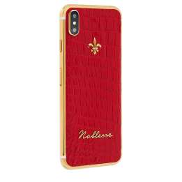 Apple Noblesse IPhone Red croco iX.0.3