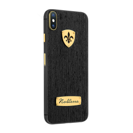 APPLE IPHONE NOBLESSE BLACK WOOD iX.0.1