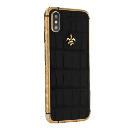 APPLE IPHONE NOBLESSE LUMINARY BLACK GOLD XS
